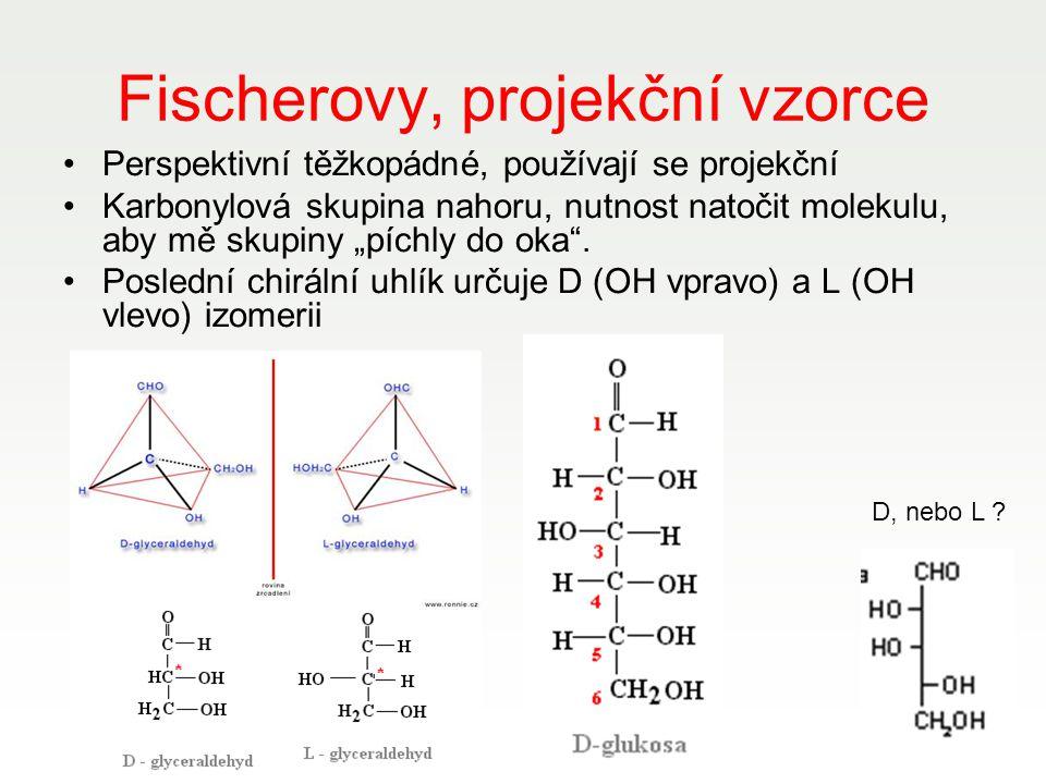 Fischerovy, projekční vzorce