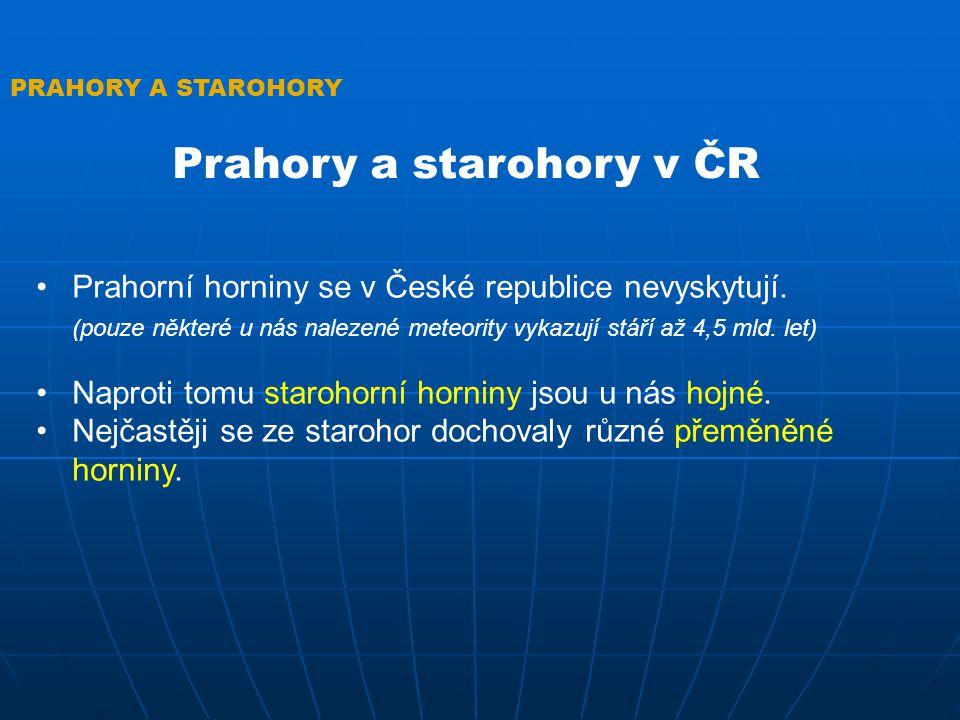 Prahory a starohory v ČR