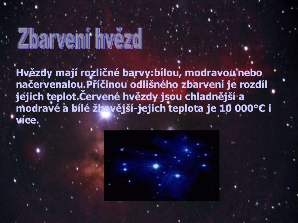 Zbarvení hvězd