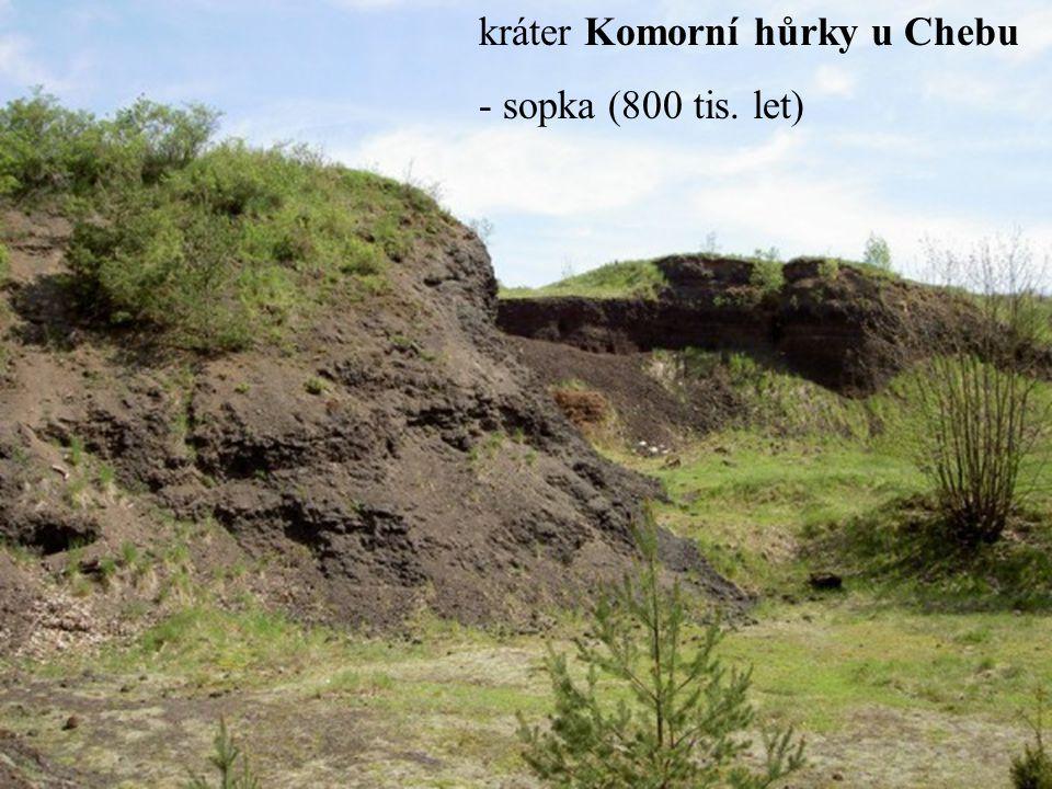 kráter Komorní hůrky u Chebu