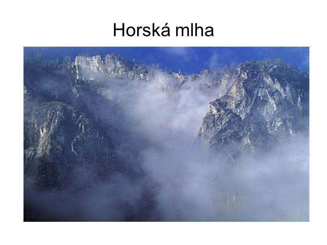 Horská mlha