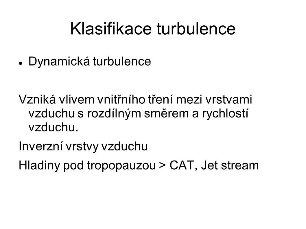 Klasifikace turbulence