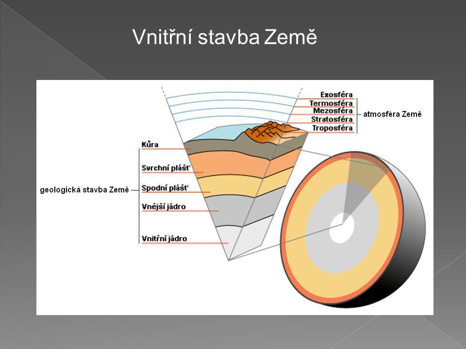 Vnitřní stavba Země