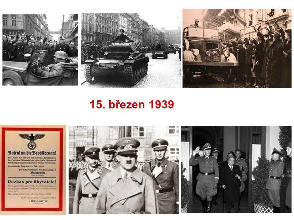 15 Březen 1939 Photo: Sociální Práce V Historickém Kontextu