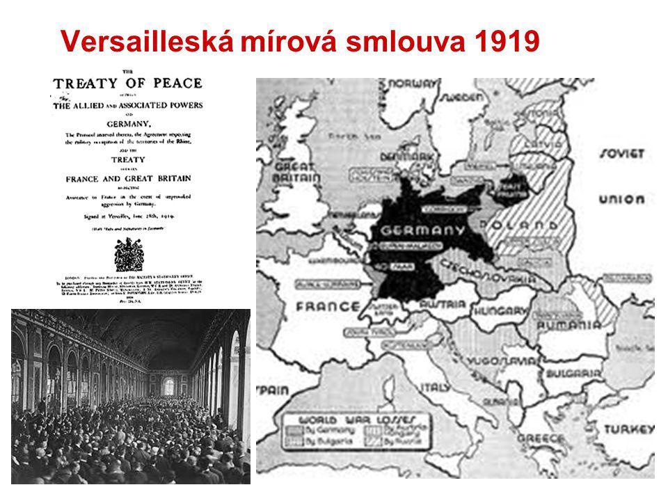 Versailleská mírová smlouva 1919