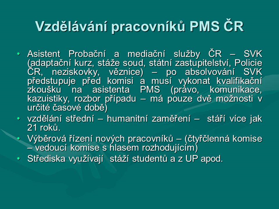 Vzdělávání pracovníků PMS ČR
