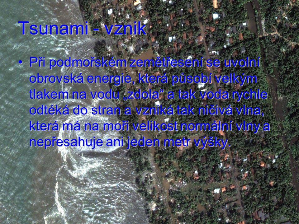 Tsunami - vznik