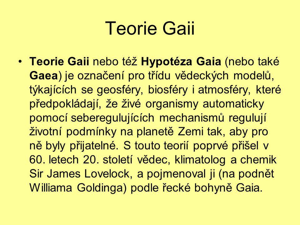 Teorie Gaii