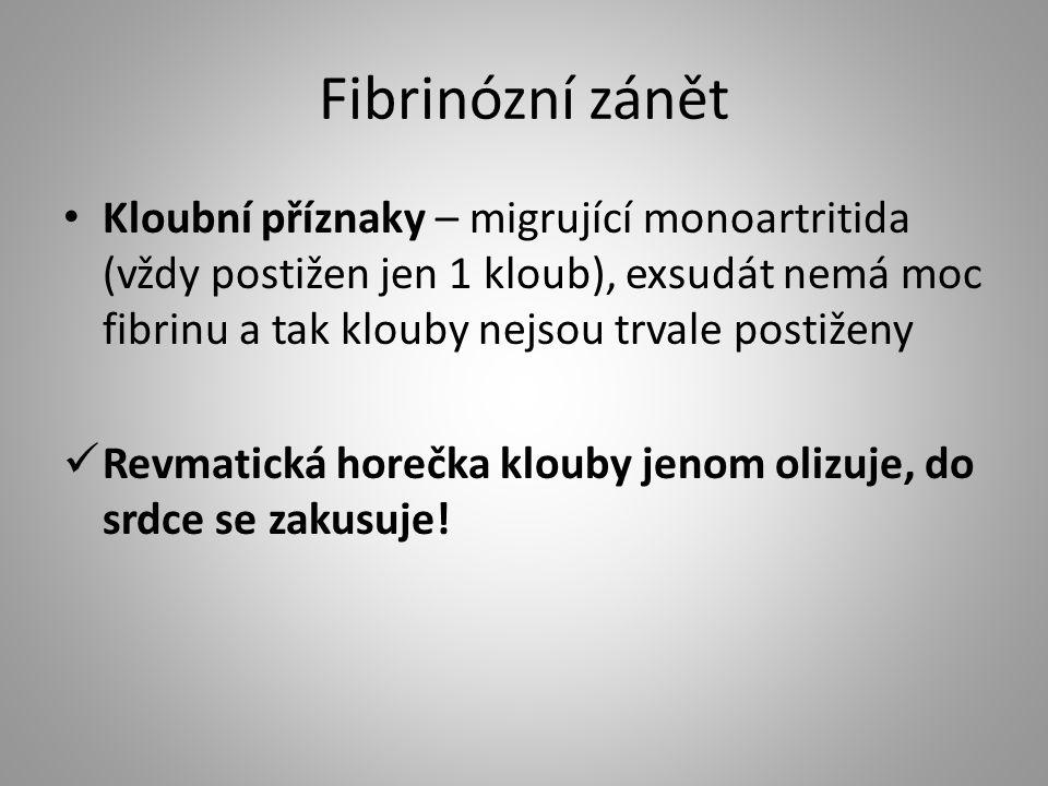Fibrinózní zánět