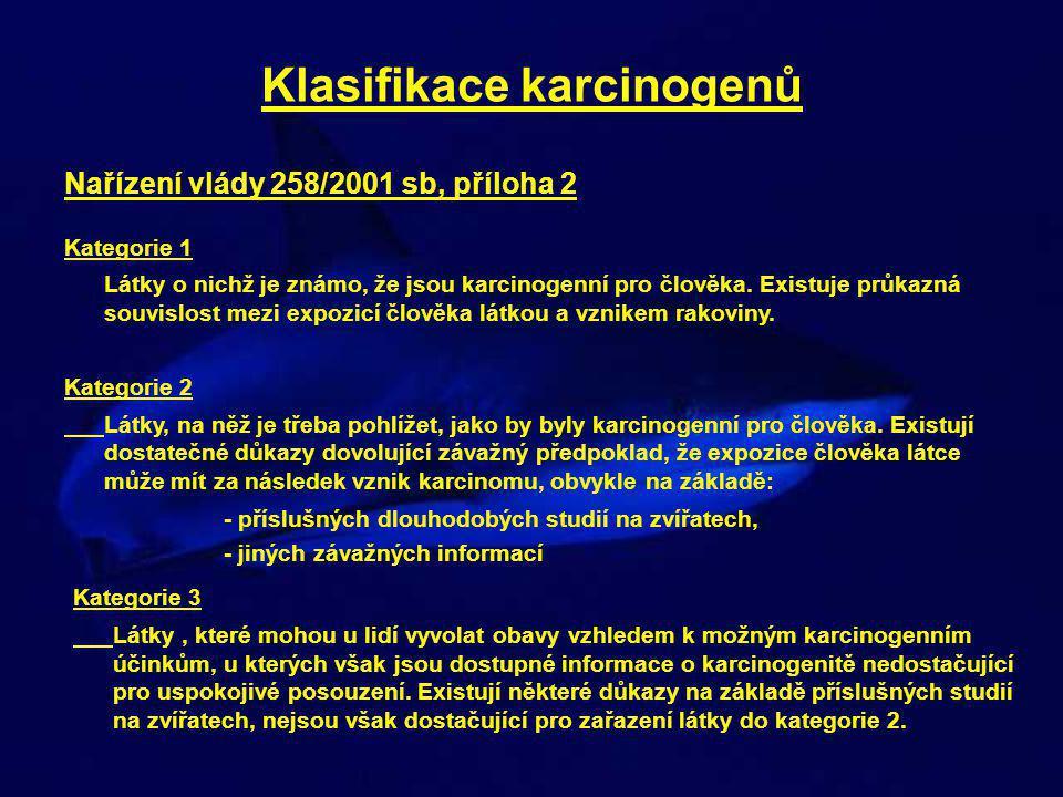 Klasifikace karcinogenů