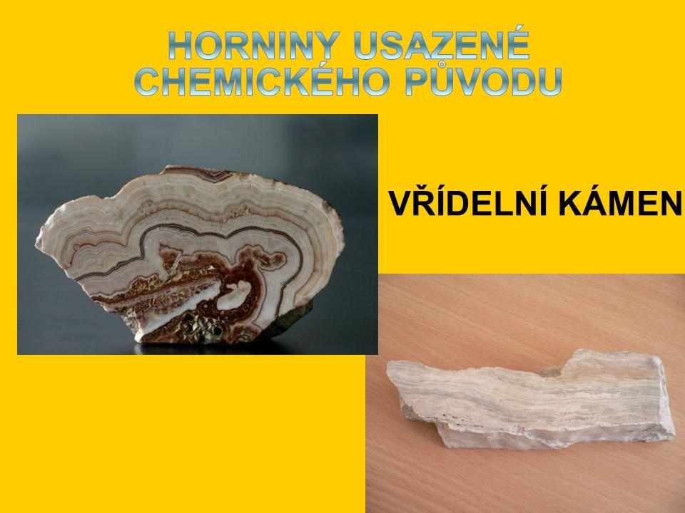 HORNINY USAZENÉ CHEMICKÉHO PŮVODU