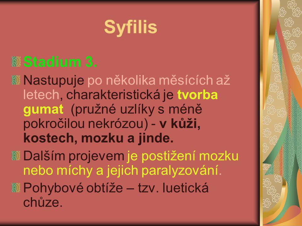 Syfilis Stadium 3.