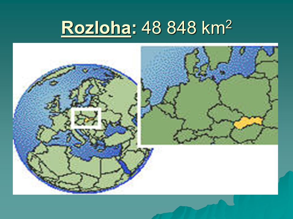 Rozloha: 48 848 km2