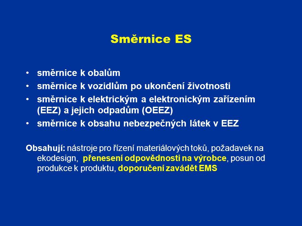 Směrnice ES směrnice k obalům