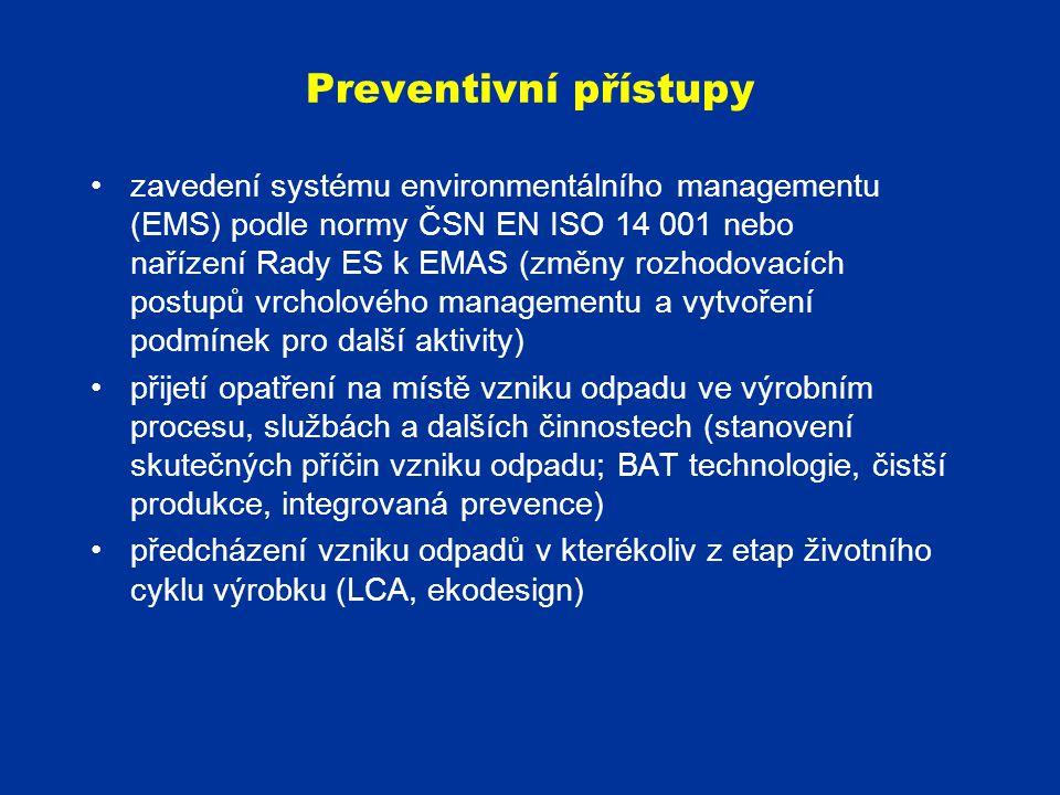 Preventivní přístupy