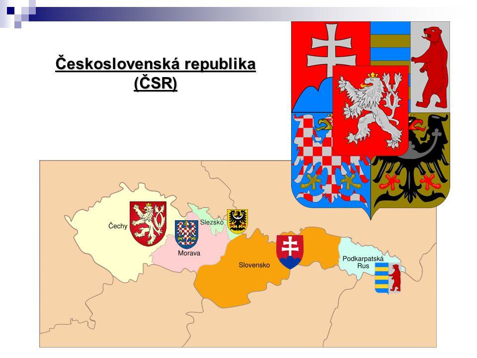 Československá republika (ČSR)