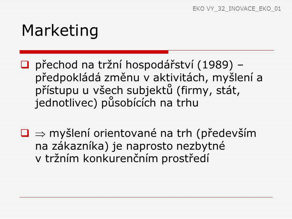 EKO VY_32_INOVACE_EKO_01 Marketing.