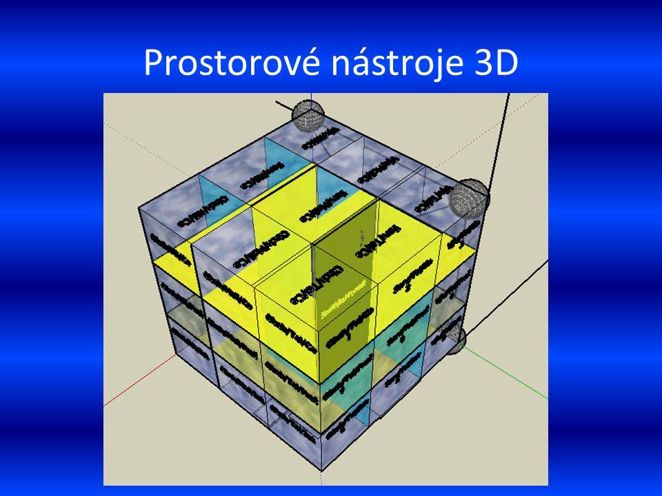 Prostorové nástroje 3D