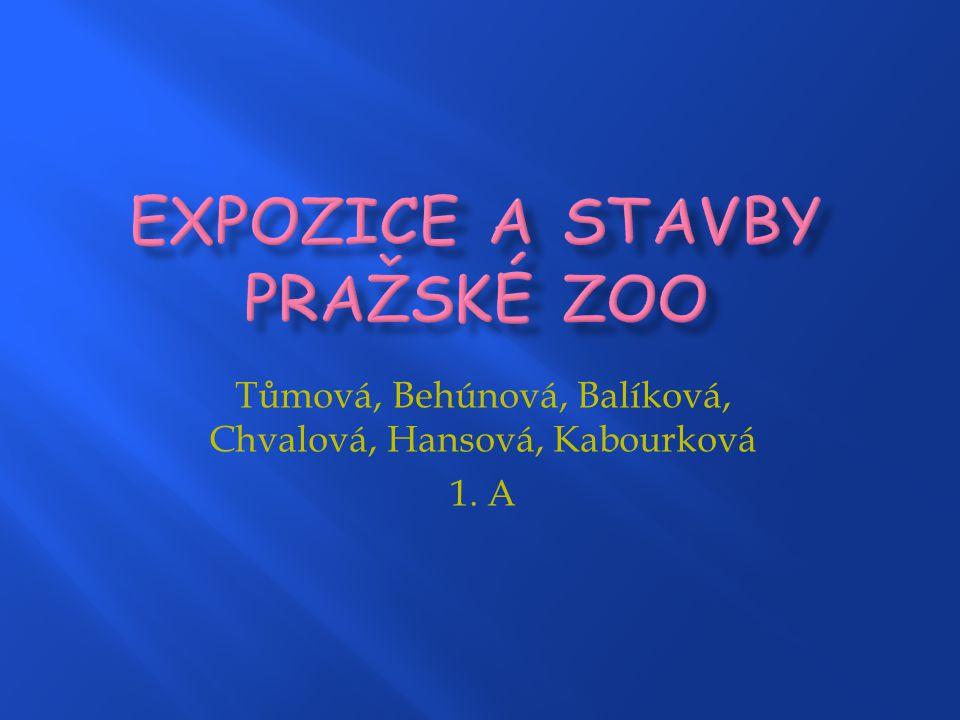 Expozice a stavby pražské zoo