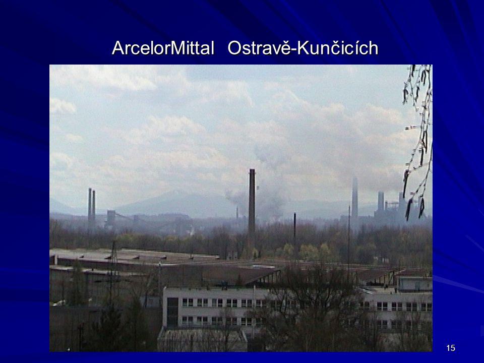 ArcelorMittal Ostravě-Kunčicích