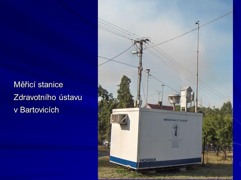 Měřicí stanice Zdravotního ústavu v Bartovicích