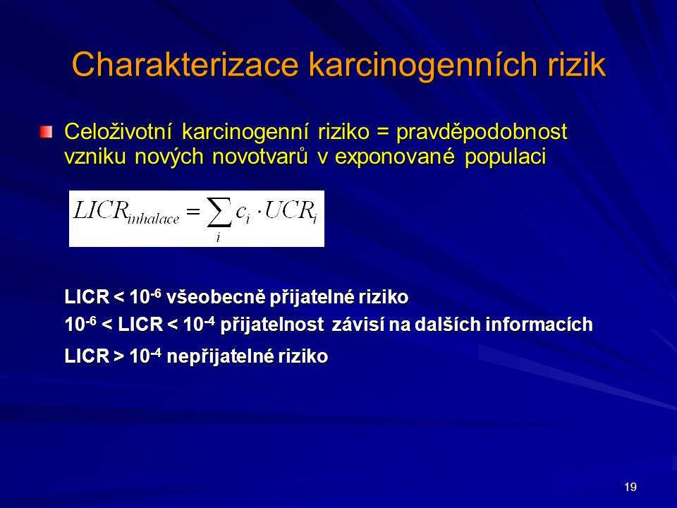 Charakterizace karcinogenních rizik