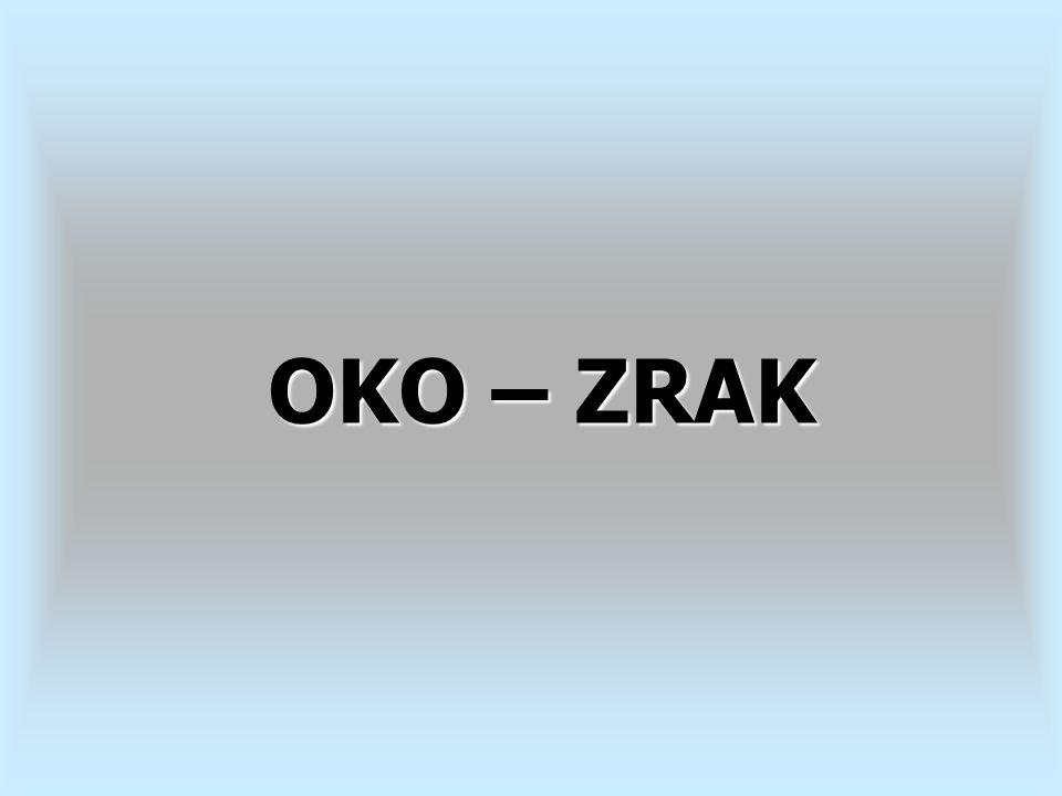 OKO – ZRAK