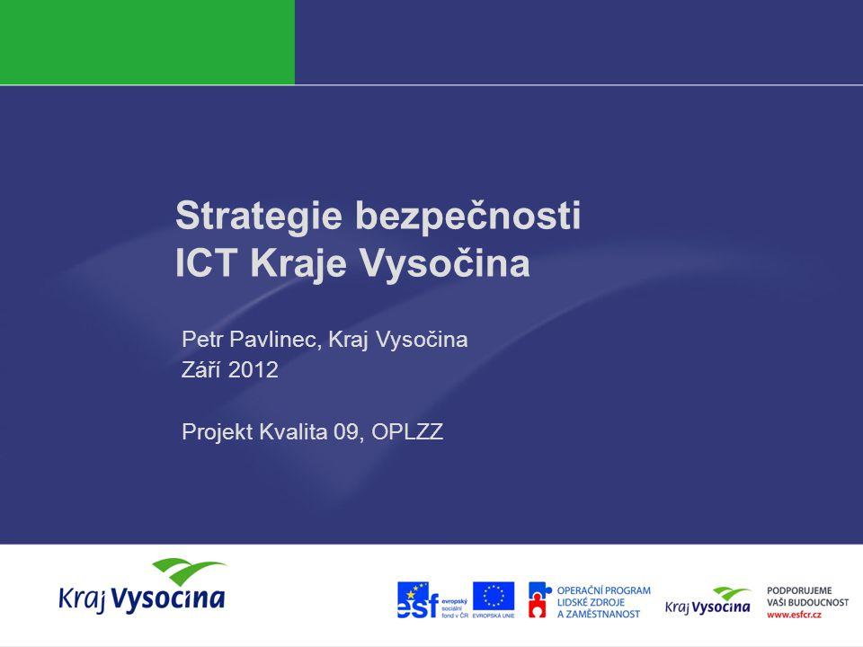 Strategie bezpečnosti ICT Kraje Vysočina