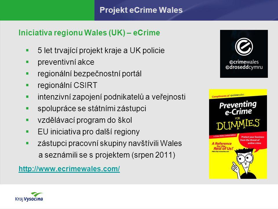 Projekt eCrime Wales Iniciativa regionu Wales (UK) – eCrime