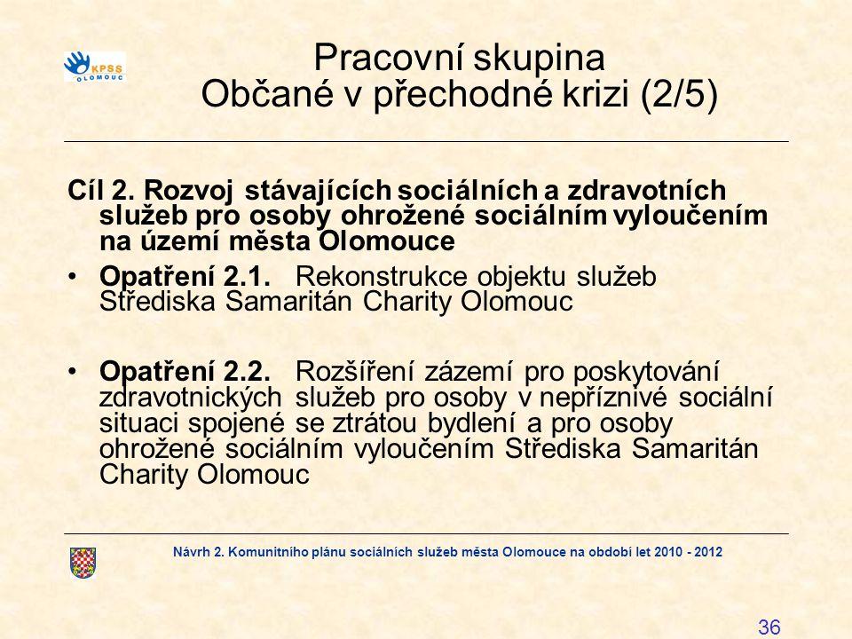Pracovní skupina Občané v přechodné krizi (2/5)