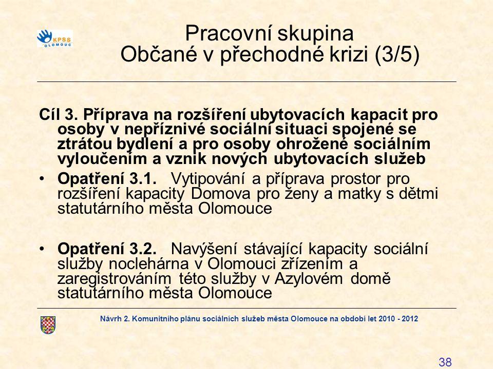 Pracovní skupina Občané v přechodné krizi (3/5)
