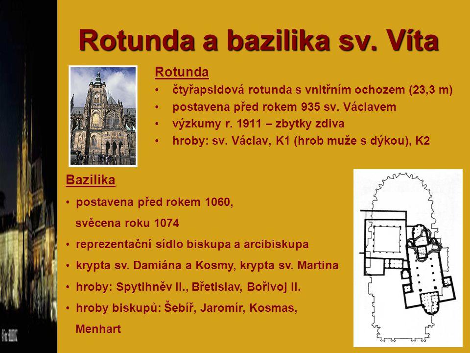 Rotunda a bazilika sv. Víta