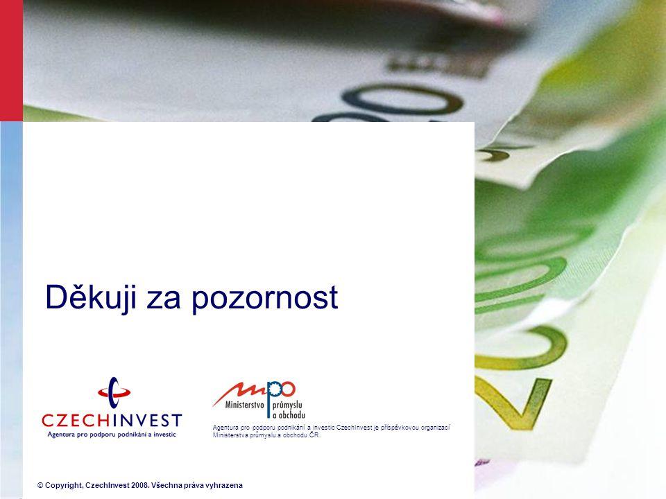 Agentura pro podporu podnikání a investic CzechInvest je příspěvkovou organizací