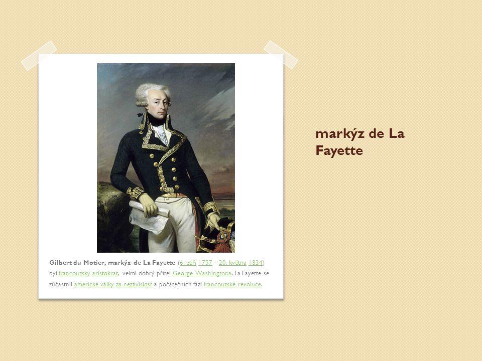 markýz de La Fayette
