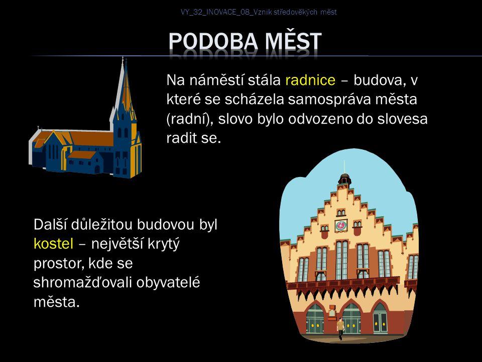 VY_32_INOVACE_08_Vznik středověkých měst