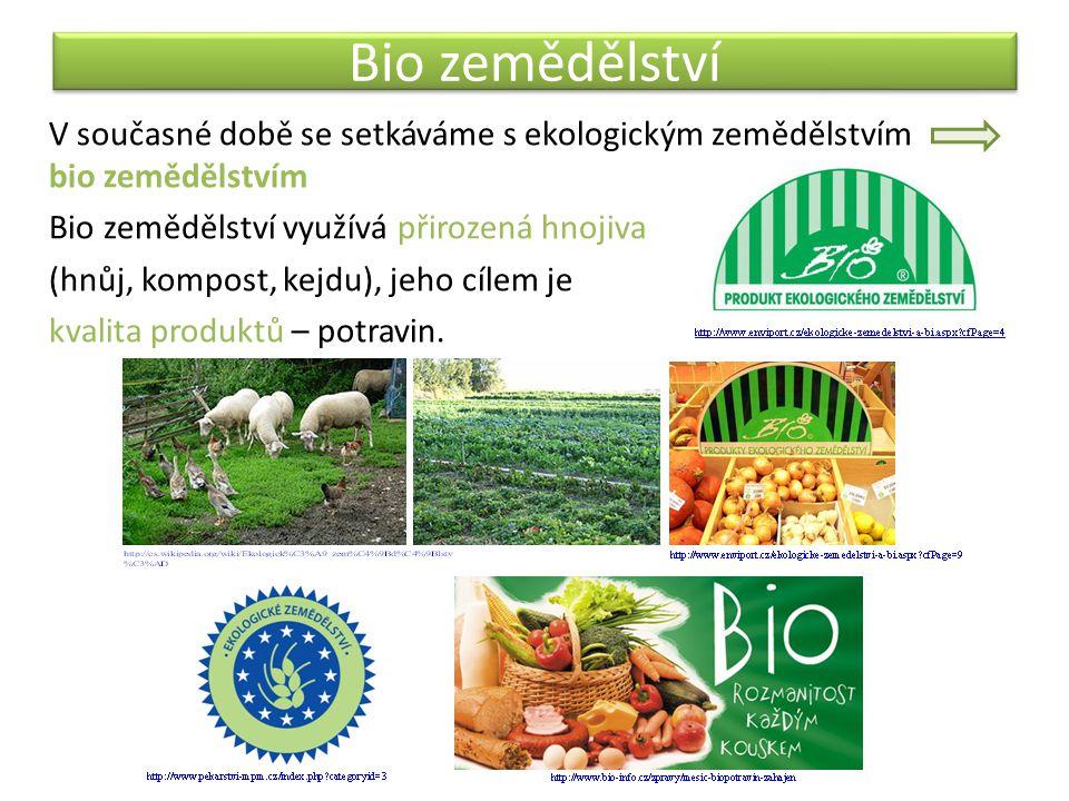 Bio zemědělství