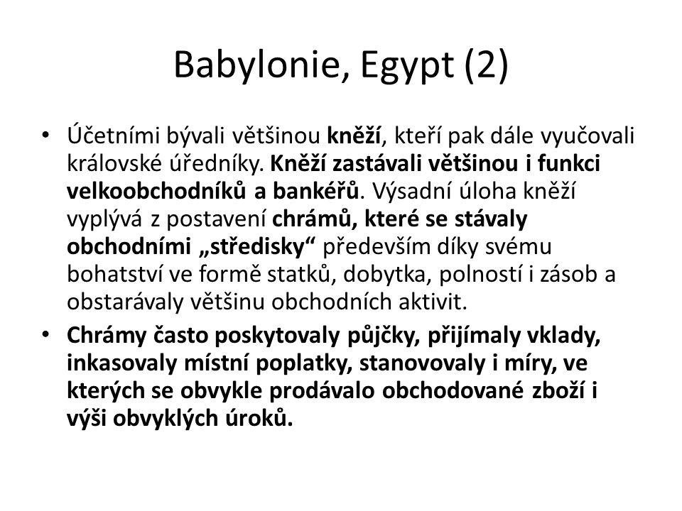 Babylonie, Egypt (2)