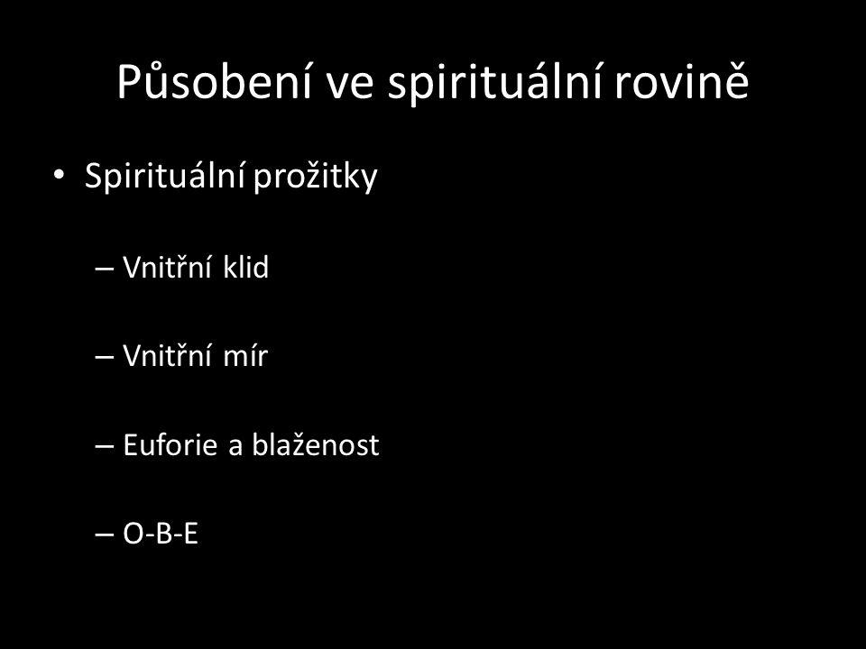 Působení ve spirituální rovině