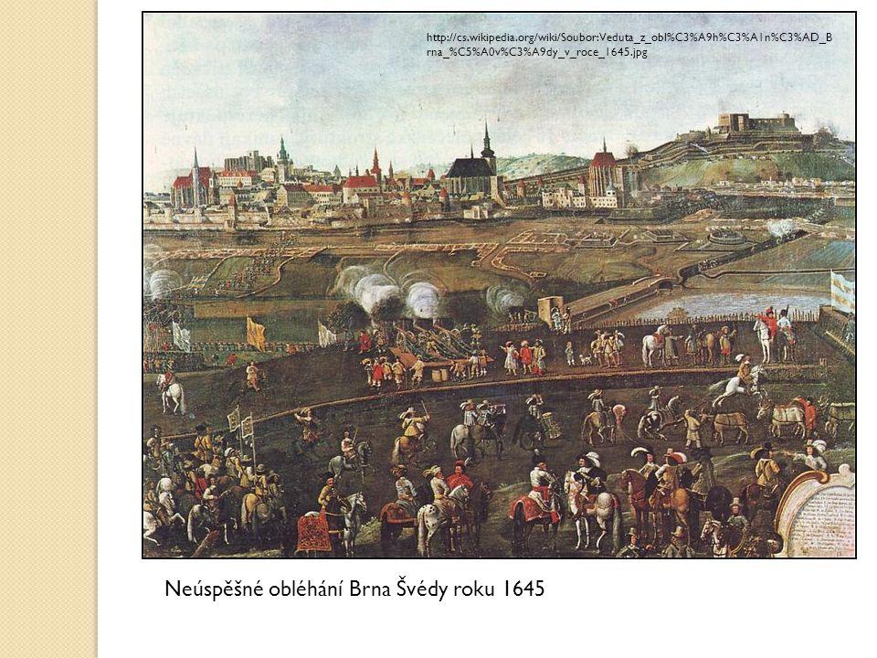 Neúspěšné obléhání Brna Švédy roku 1645