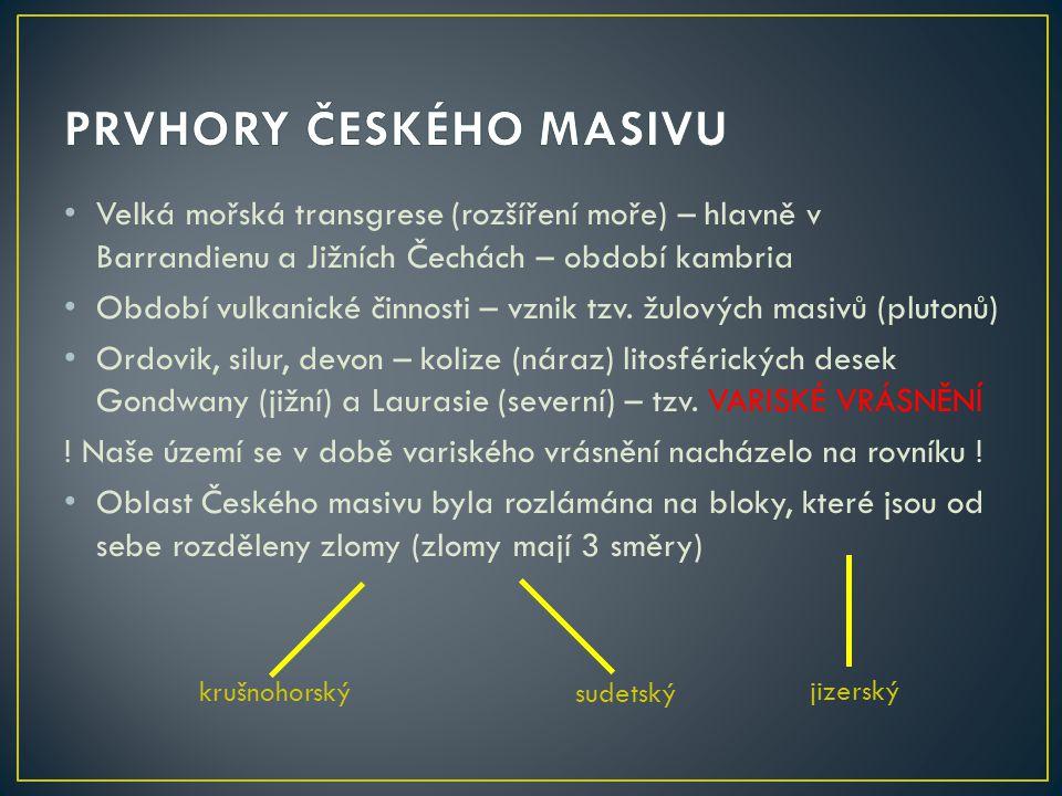 PRVHORY ČESKÉHO MASIVU