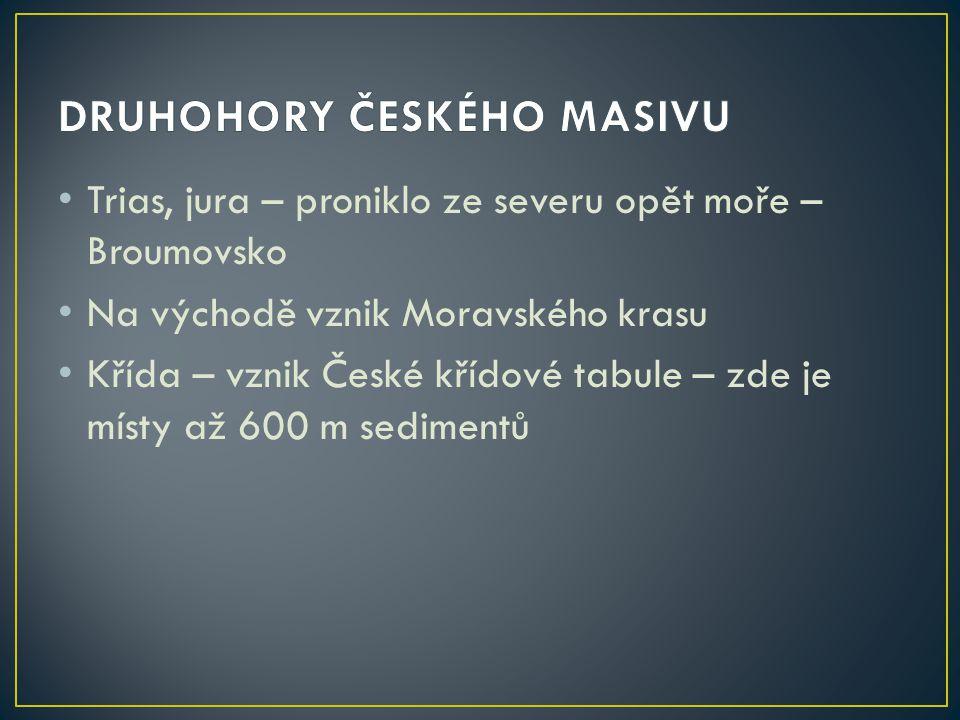 DRUHOHORY ČESKÉHO MASIVU