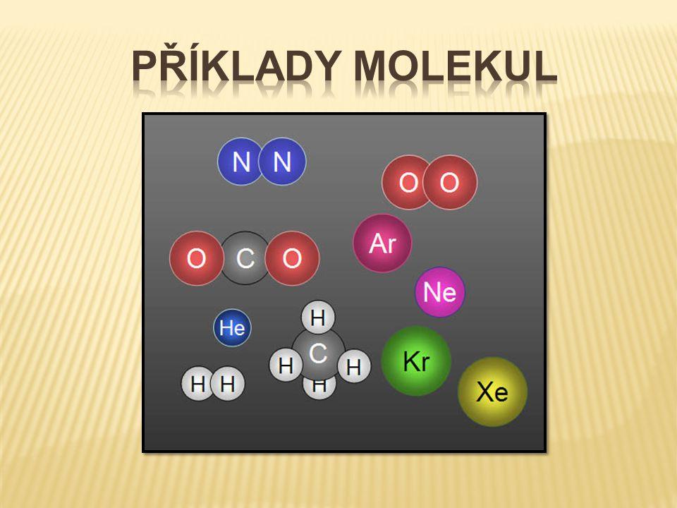 Příklady molekul