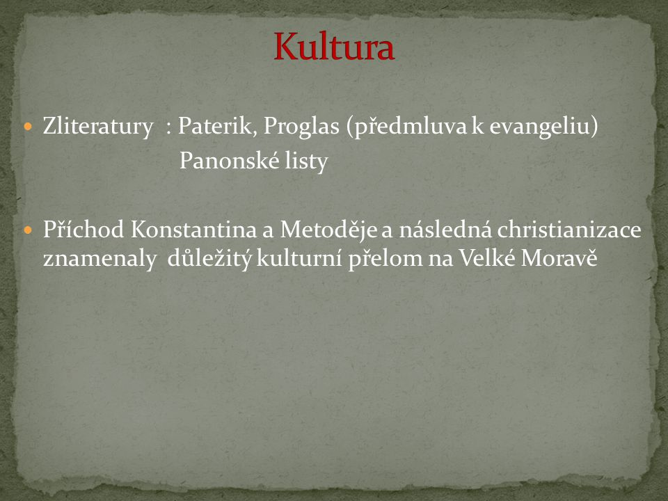 Kultura Zliteratury : Paterik, Proglas (předmluva k evangeliu)
