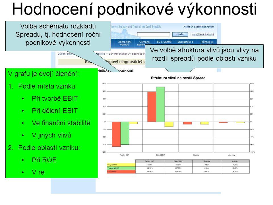 Hodnocení podnikové výkonnosti