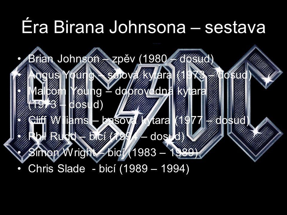 Éra Birana Johnsona – sestava