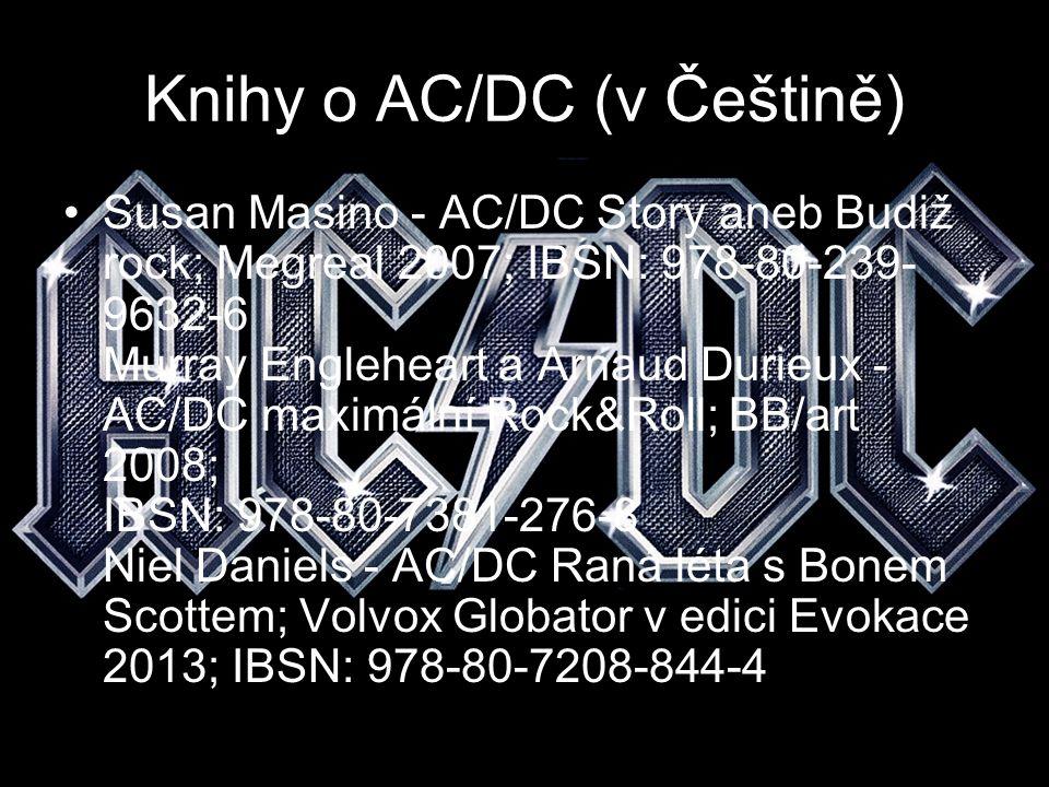 Knihy o AC/DC (v Češtině)