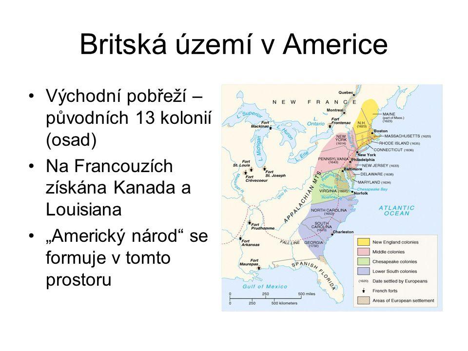 Britská území v Americe