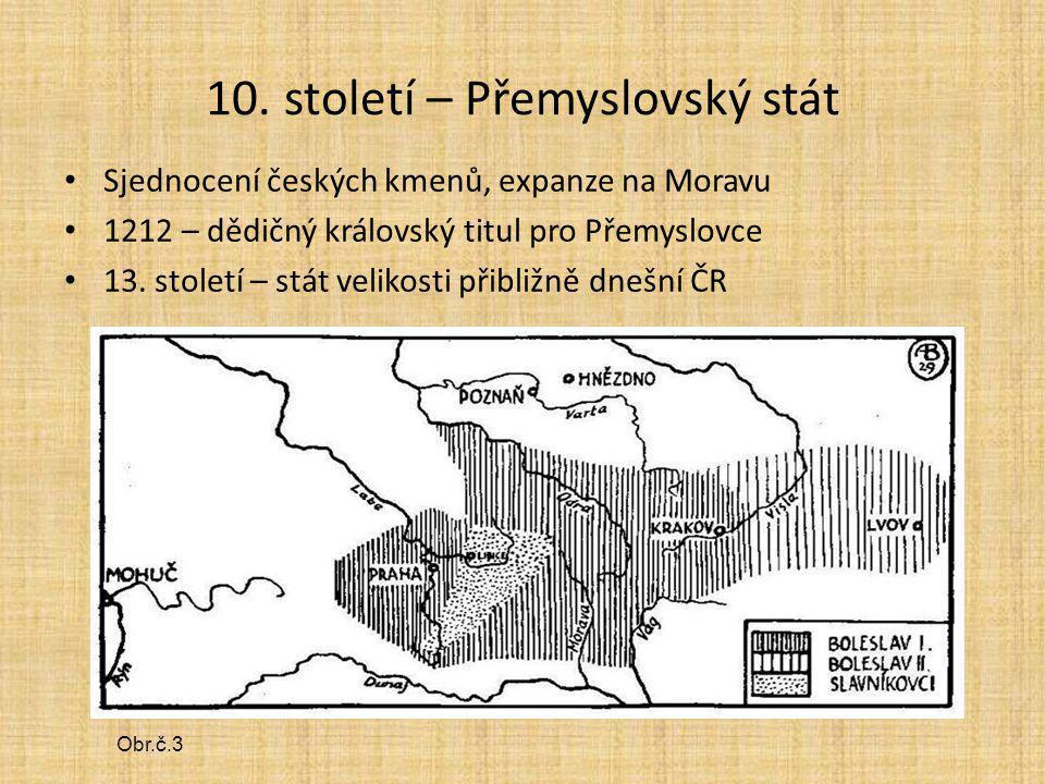 10. století – Přemyslovský stát