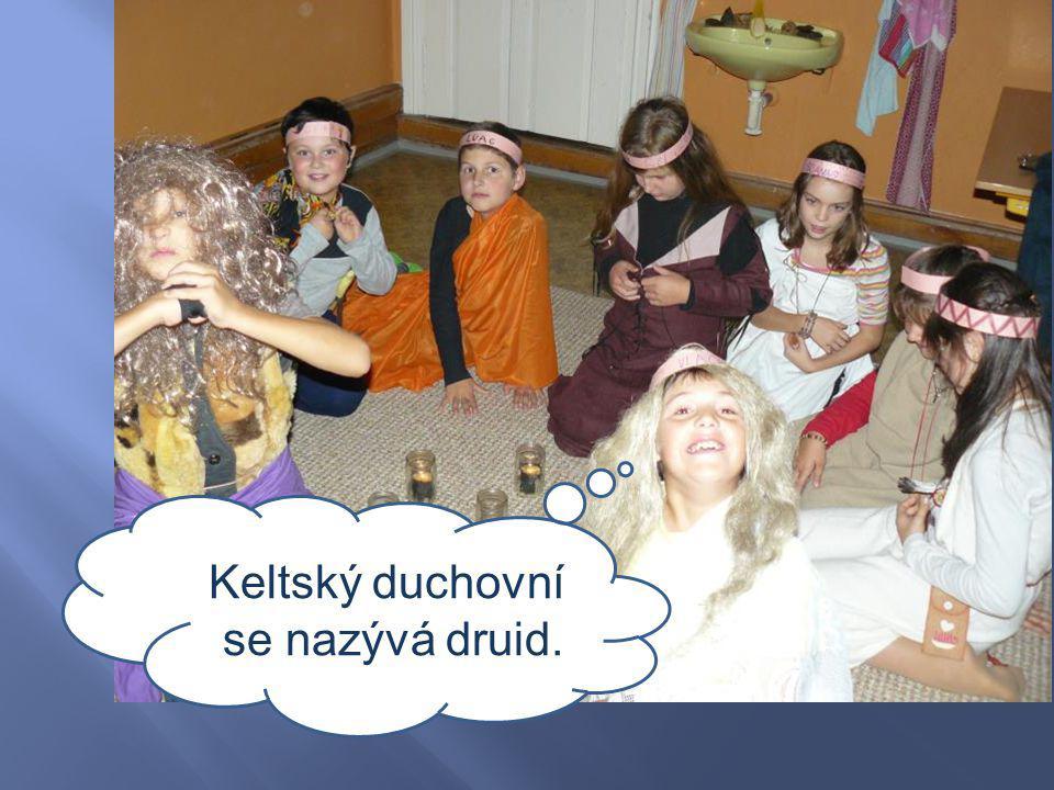 Keltský duchovní se nazývá druid.