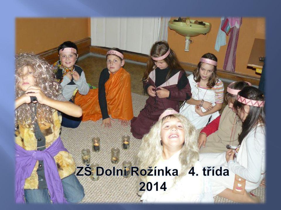 ZŠ Dolní Rožínka 4. třída 2014